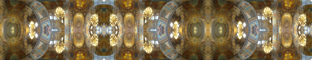 10. St. Isaac's Cathedral Ceiling - St. Petersburg Russia