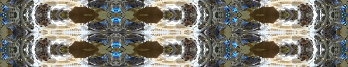 18. Ceiling - Sagrada Familia Barcelona Spain