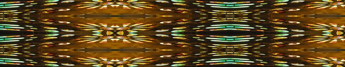 19. Stained Glass - Sagrada Familia Barcelona Spain