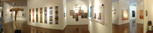 3. Anne and Mark's Art Party installation panoramic - 2014
